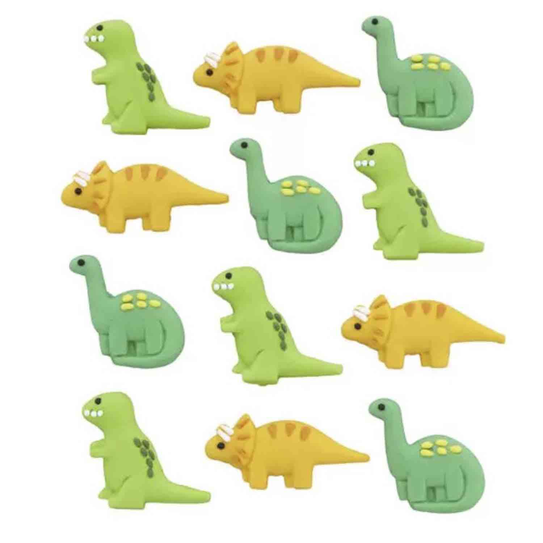 Dinosaur Royal Icing Decorations