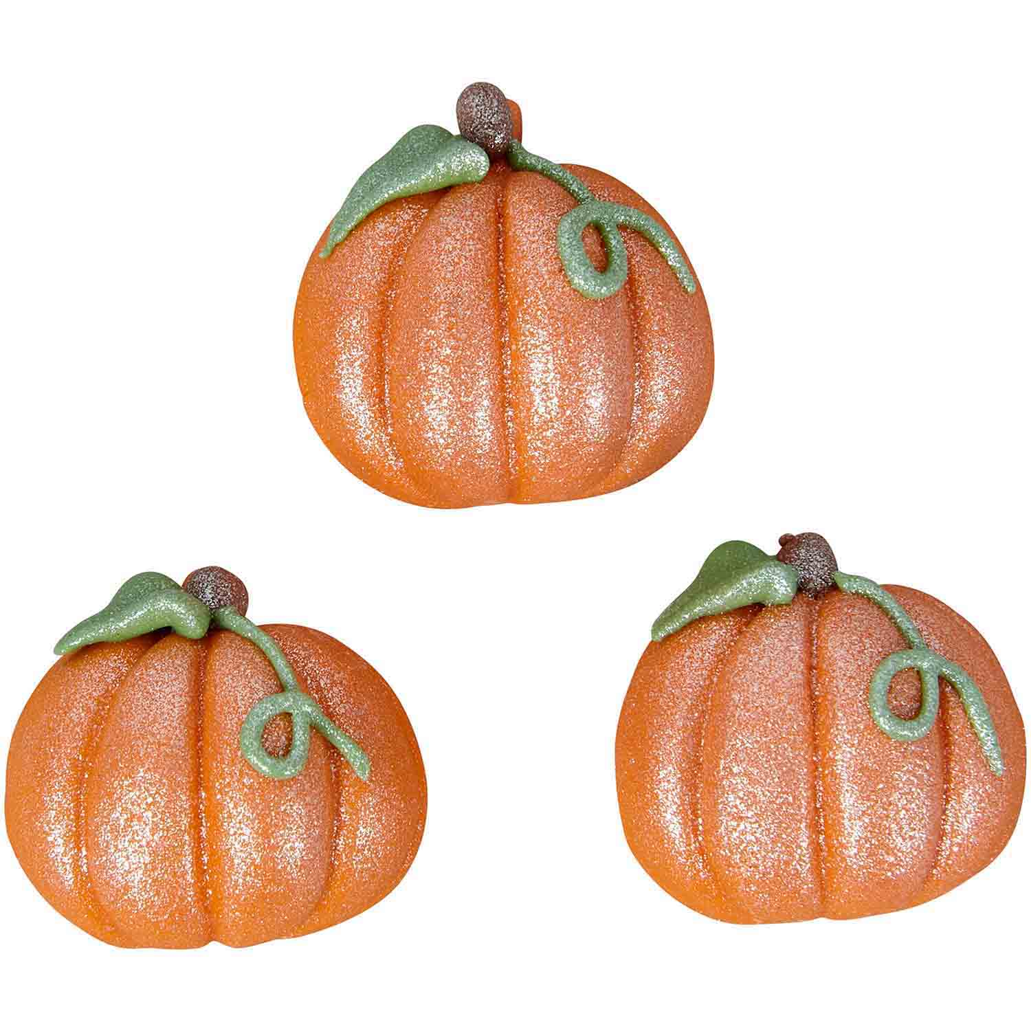 Shimmer Pumpkin Candy Decorations
