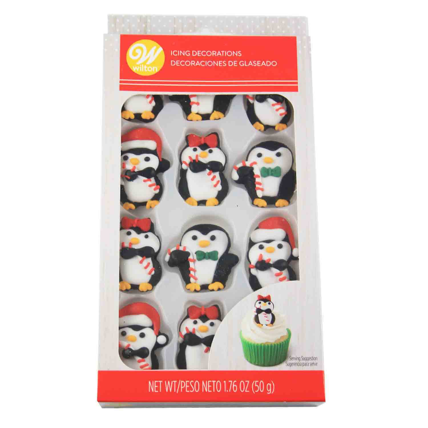 Penguin Icing Decorations
