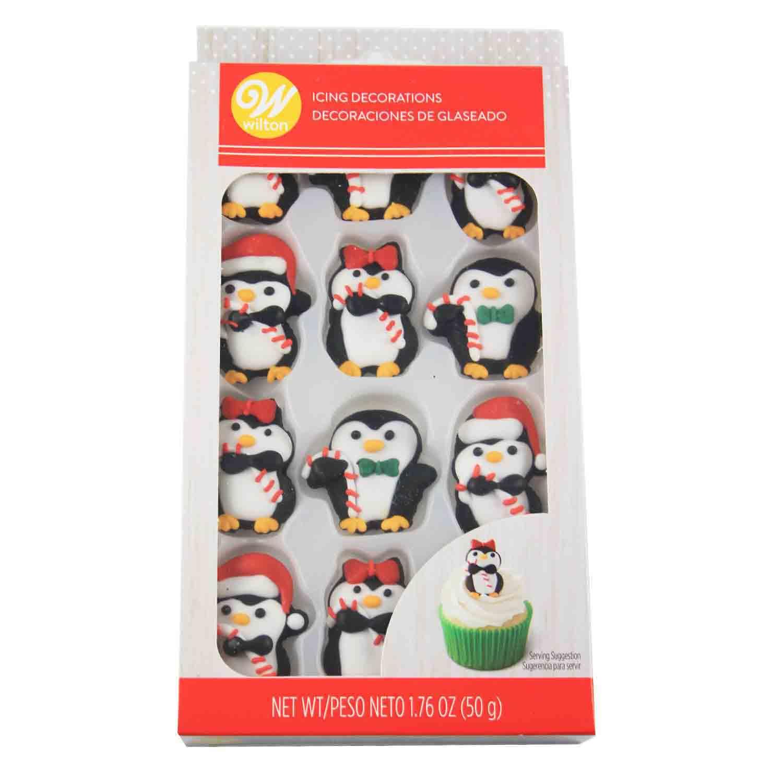 Penguin Icing Decorations