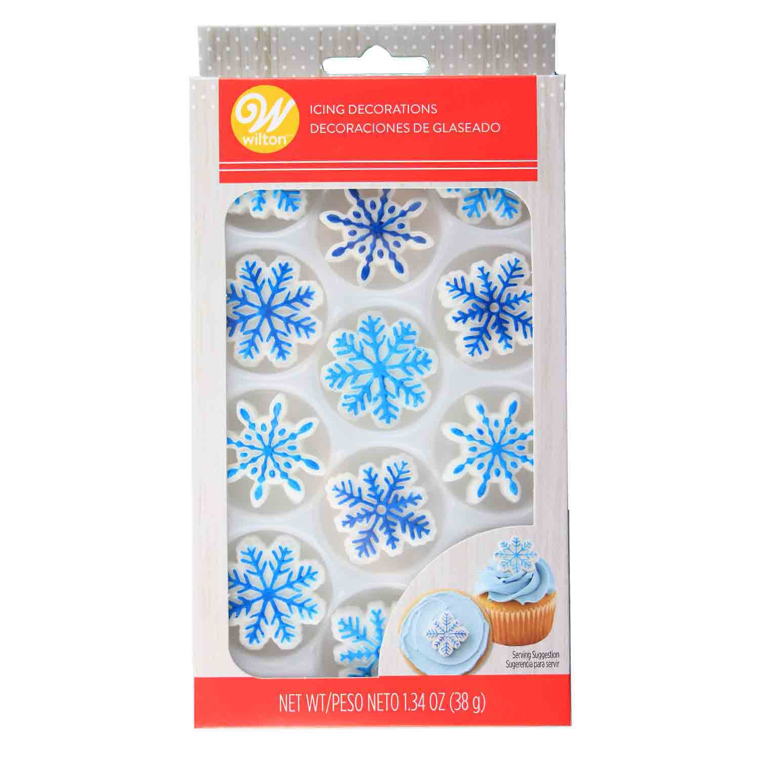 Snowflake Royal Icing Decorations