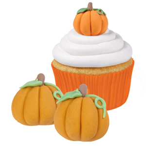 3D Pumpkins Royal Icing Decorations