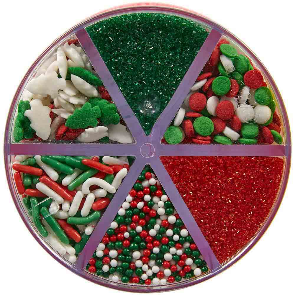 Sugars, Sprinkles, Edible Glitters, and Dragees
