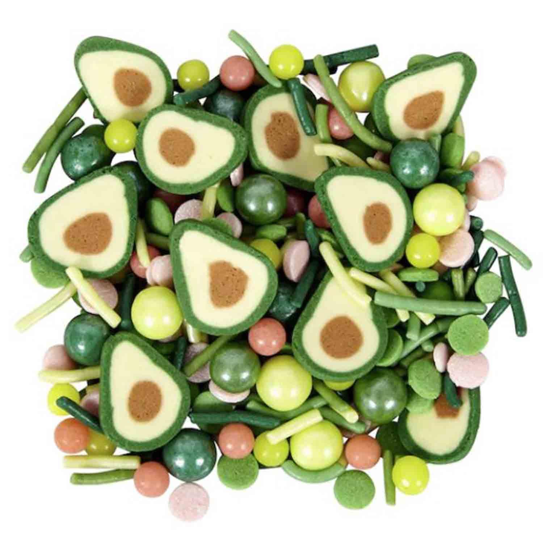 Avocado Green Sprinkle Mix