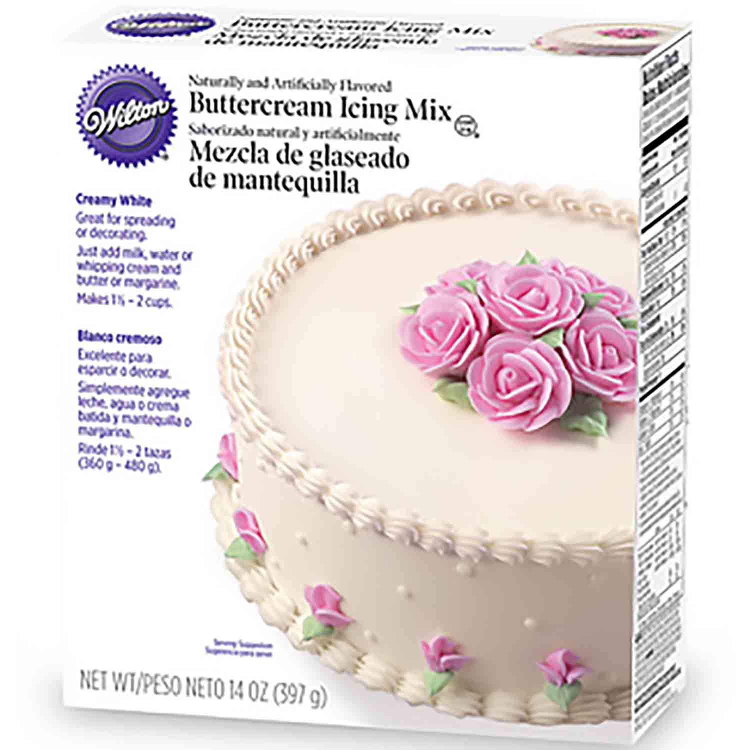 Wilton Creamy White Icing Mix