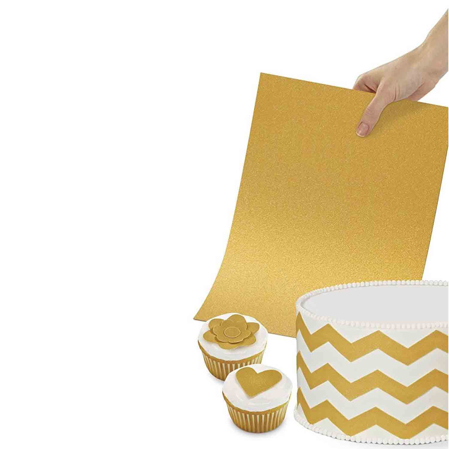 Sugar Sheets™- Shimmering Gold