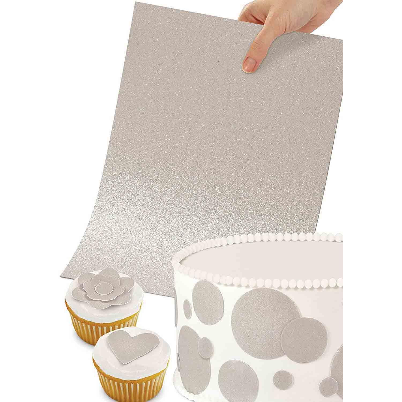 Sugar Sheets™- Shimmering Silver