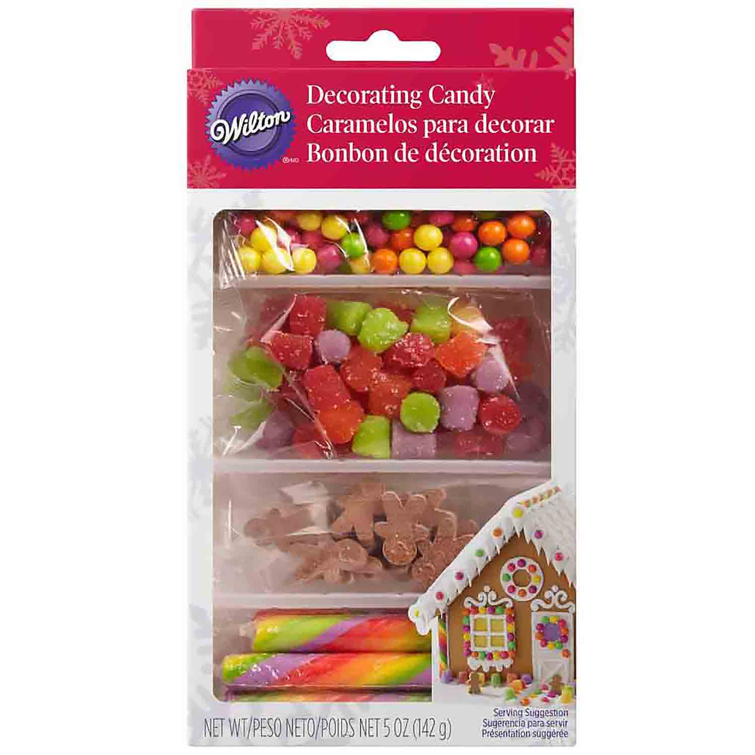 Gingerbread House Decorating Candy