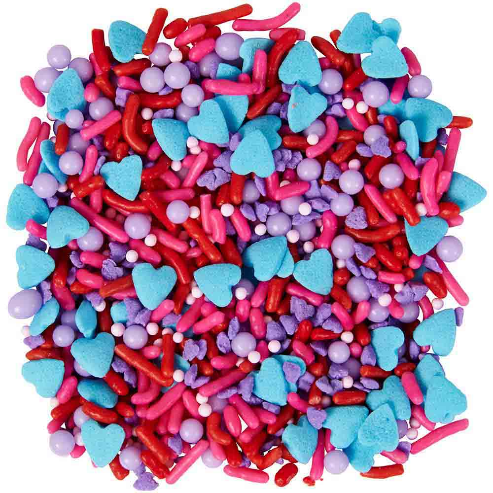Valentine Sprinkles Heart Mix