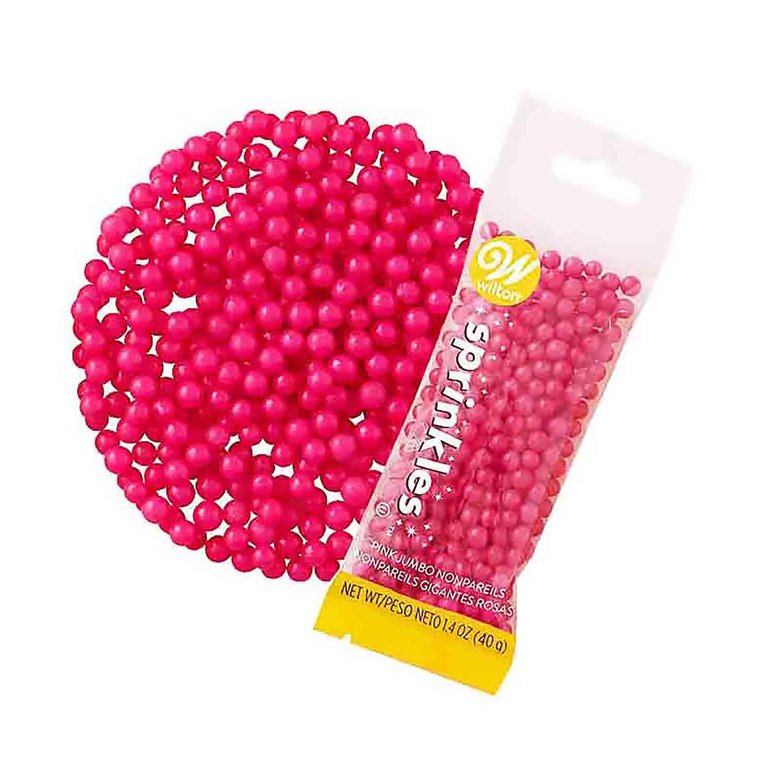 Pink Jumbo Non-Pareil Pouch