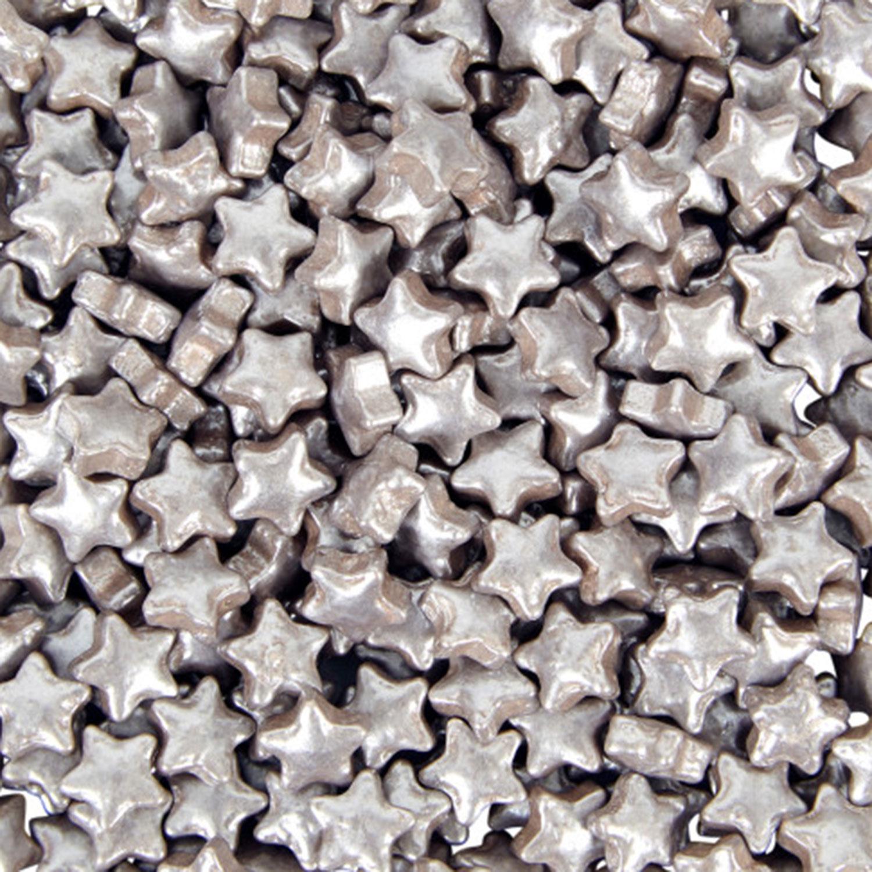 Silver Star Sprinkles Pouch
