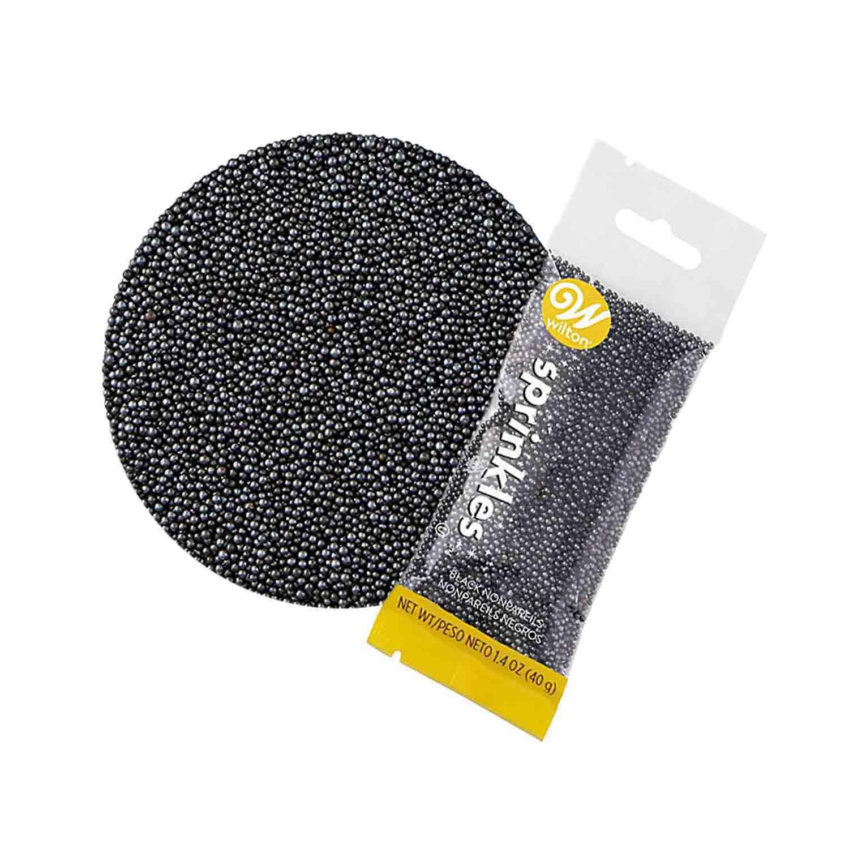 Black Non-Pareil Pouch