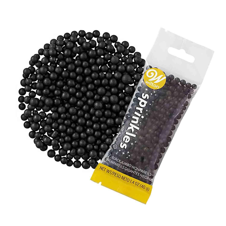 Black Jumbo Non-Pareil Pouch