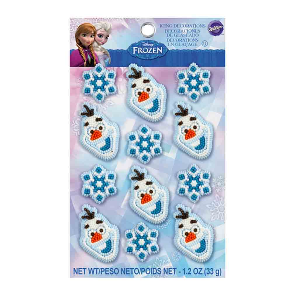 Frozen Icing Decorations