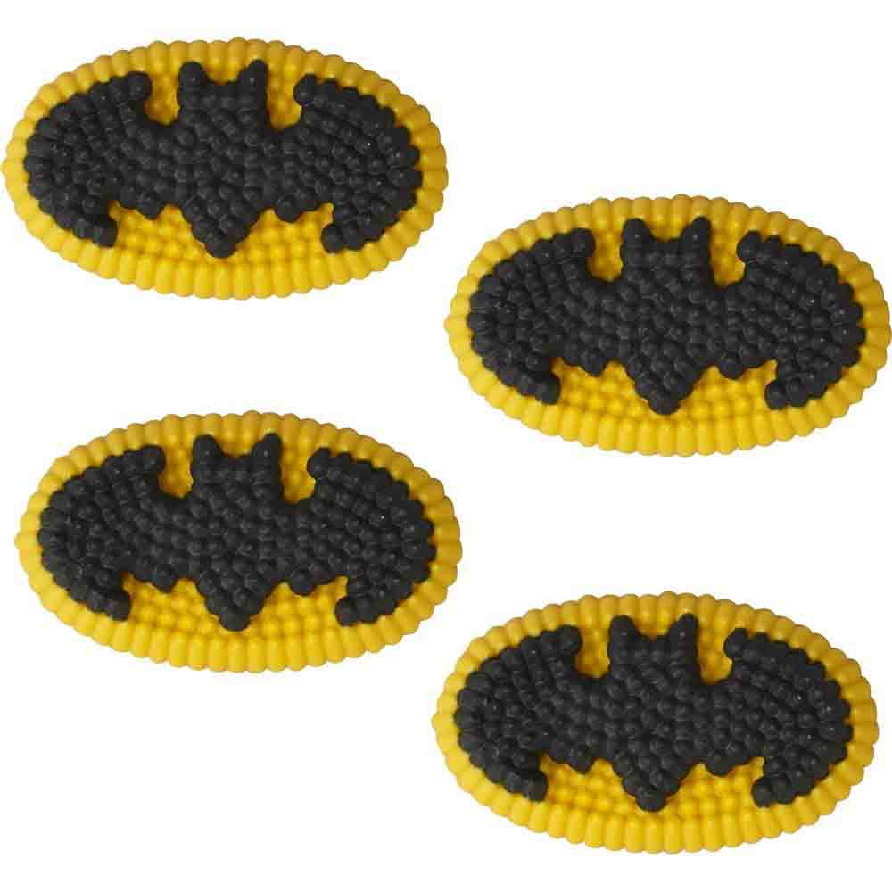 Batman Icing Decorations