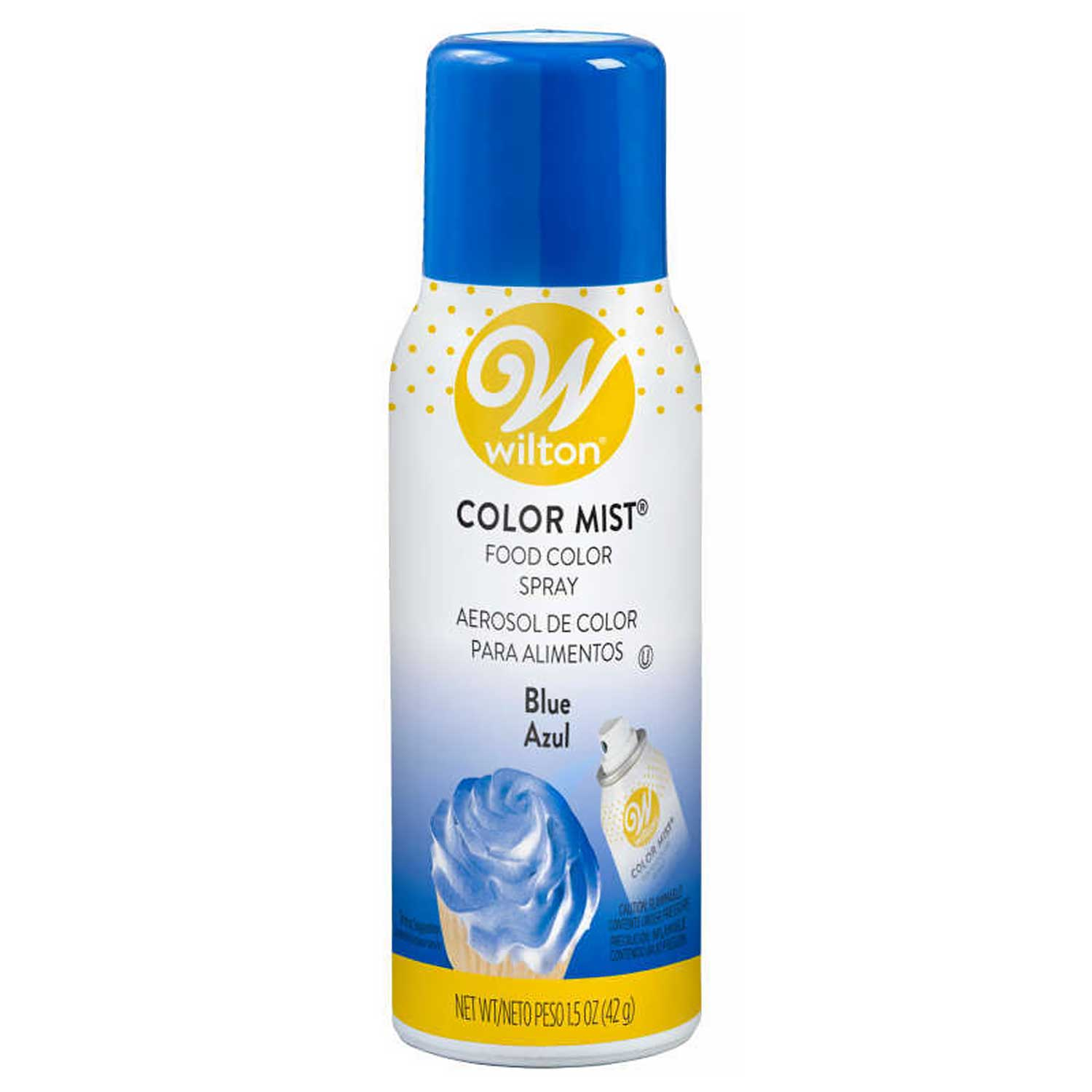 Blue Color Mist Spray