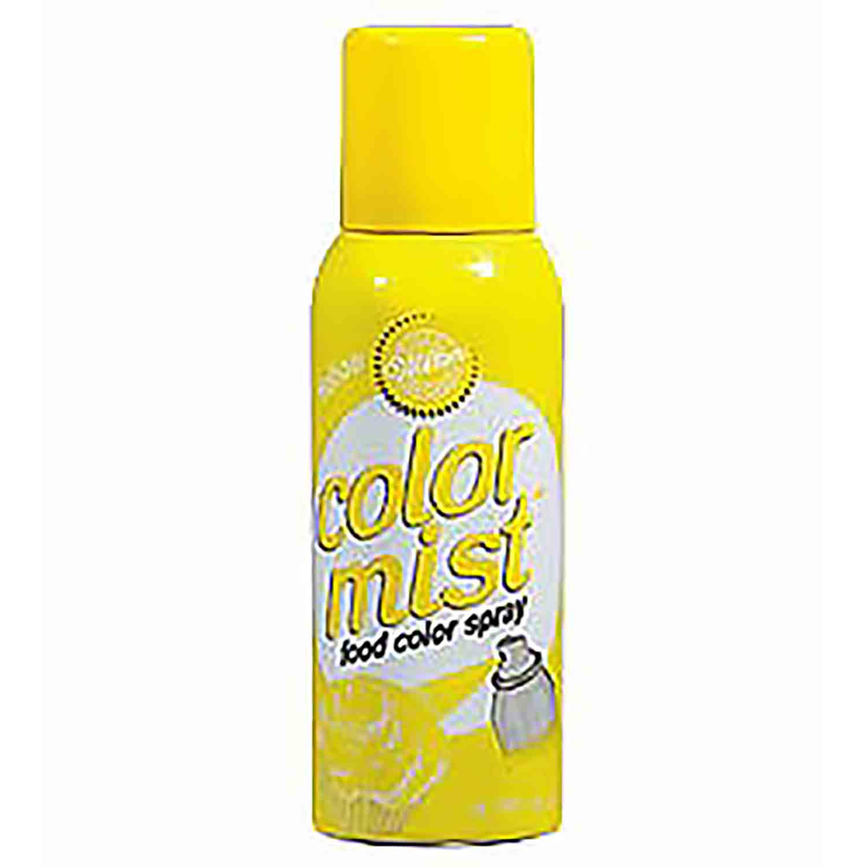 Wilton Color Mist Spray Yellow