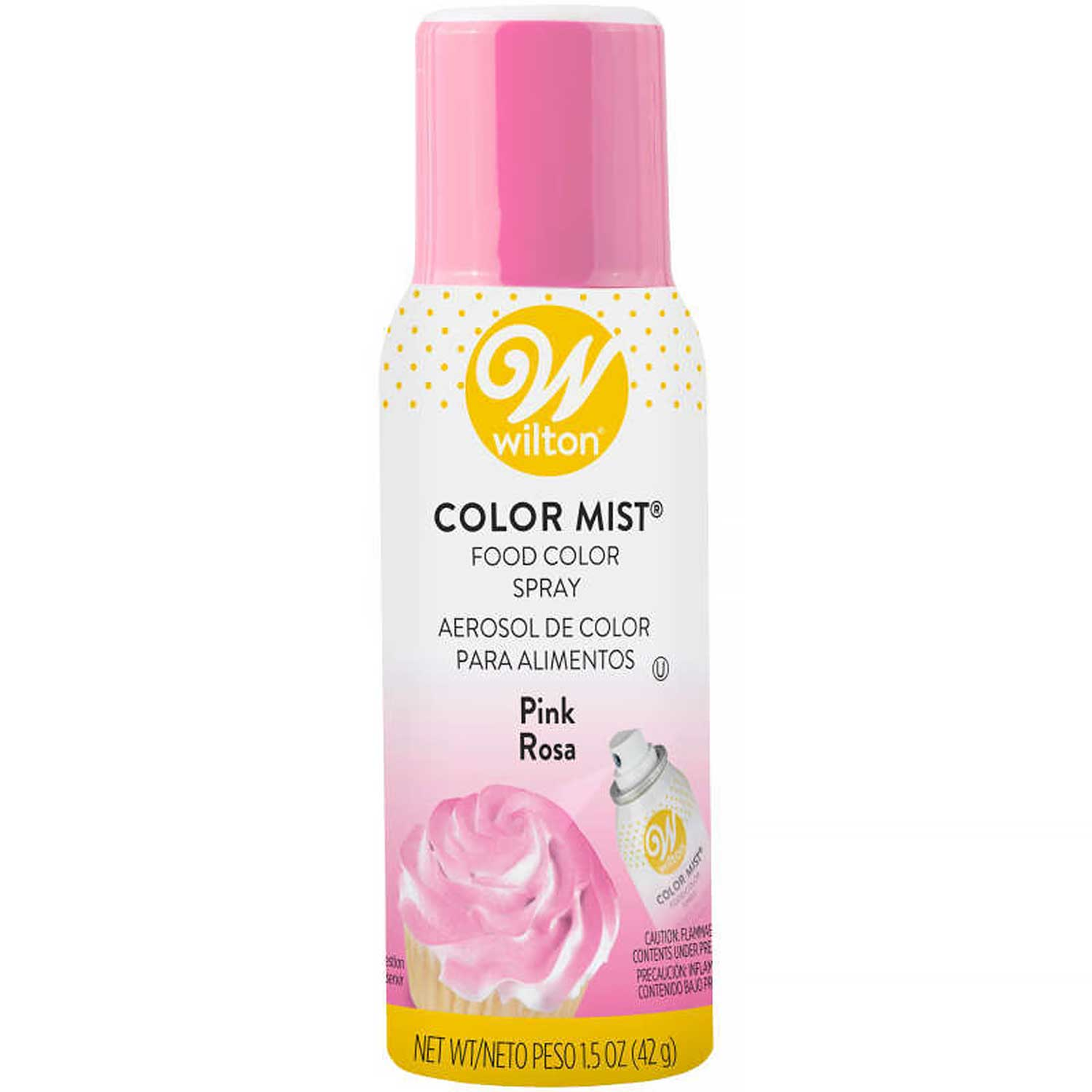 Pink Color Mist Spray