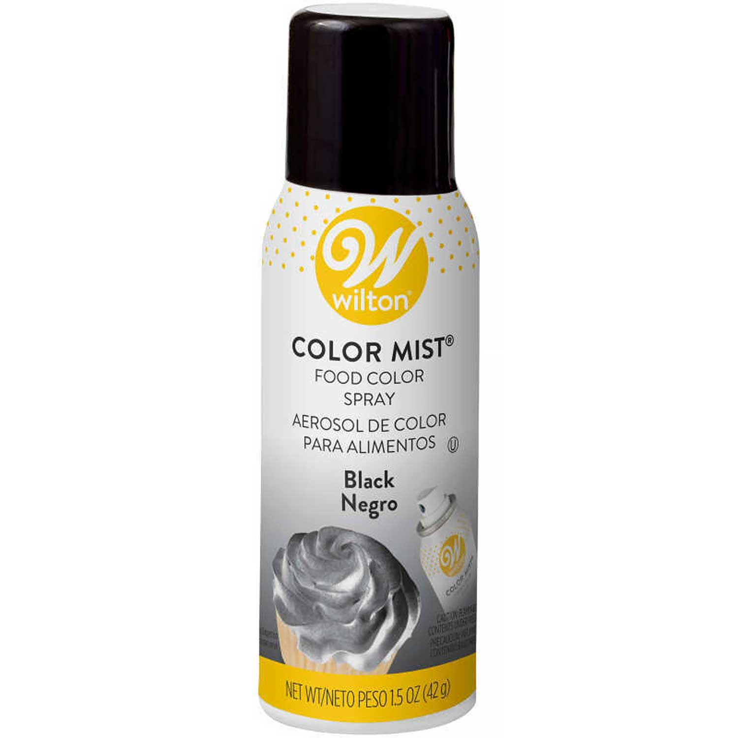 Wilton Color Spray Mist Black