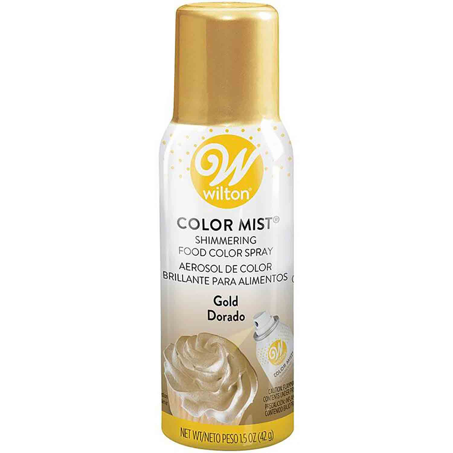Metallic Gold Color Mist Spray