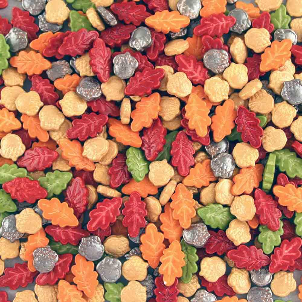 Acorn and Leaf Sprinkles