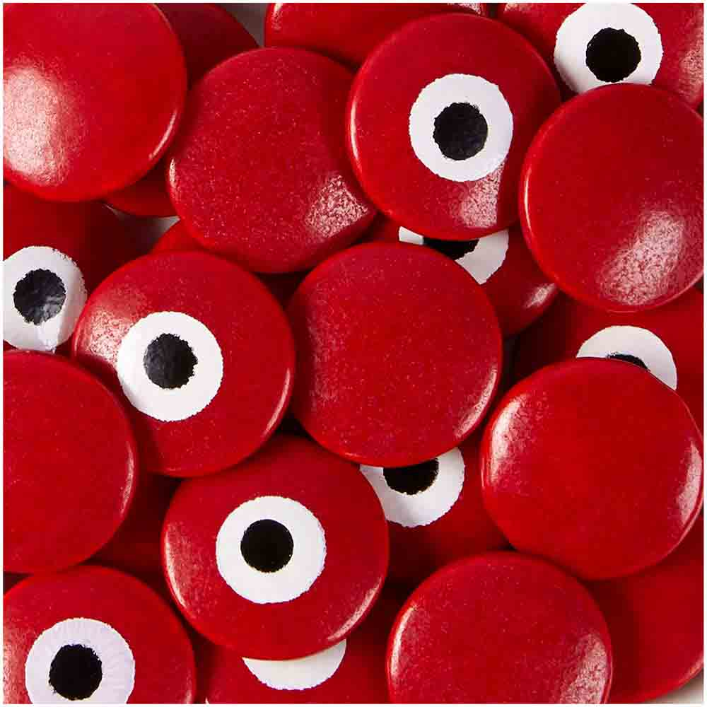 Red Candy Eyeballs
