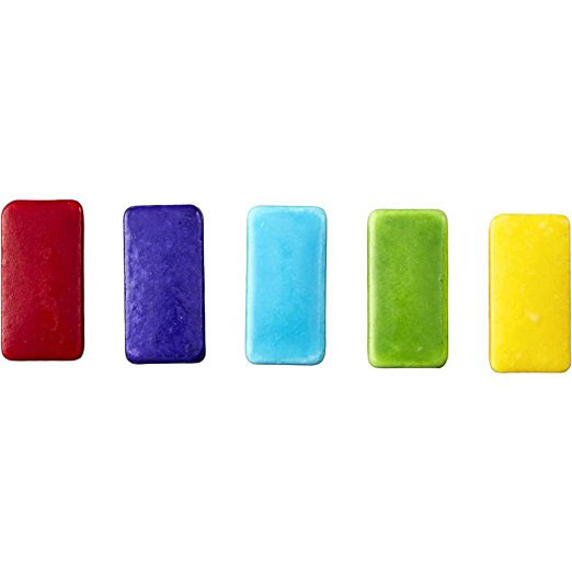 Rectangle Shingles Candy Decorations