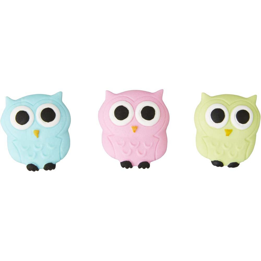 Owl Royal Icing Decorations