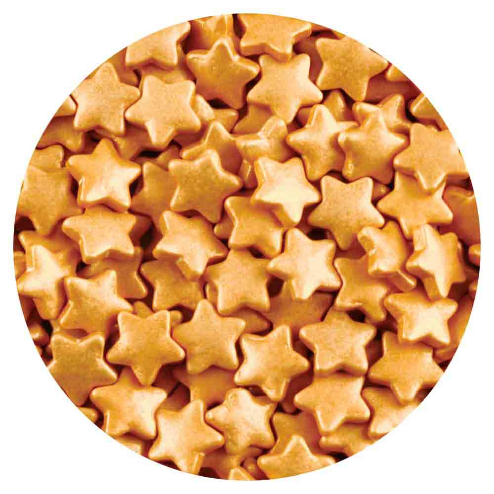 Gold Star Sprinkles