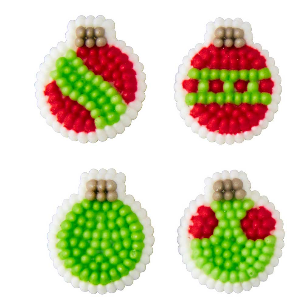 Mini Ornament Icing Decorations