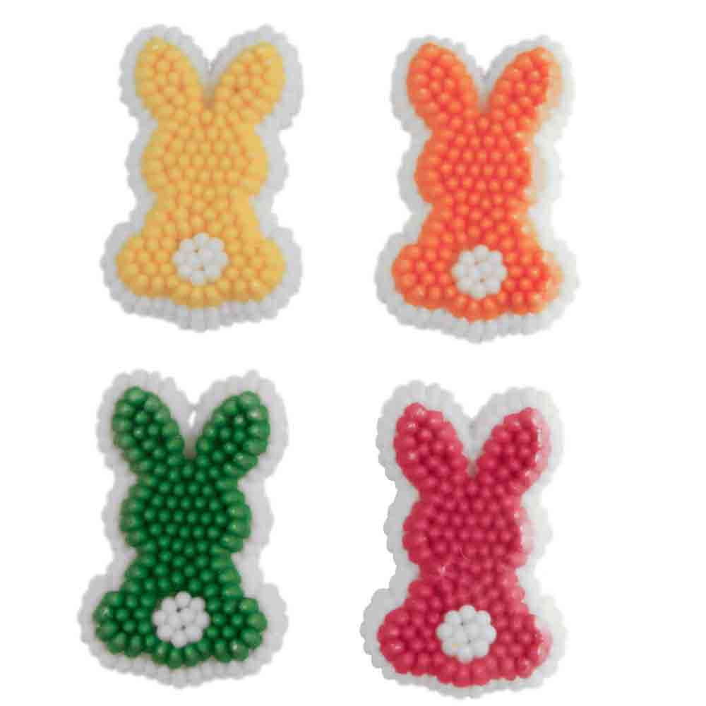 Bunny Dot Icing Decorations
