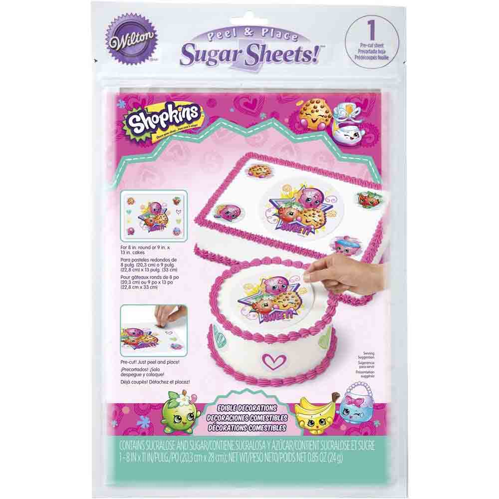 Sugar Sheets!™- Shopkins