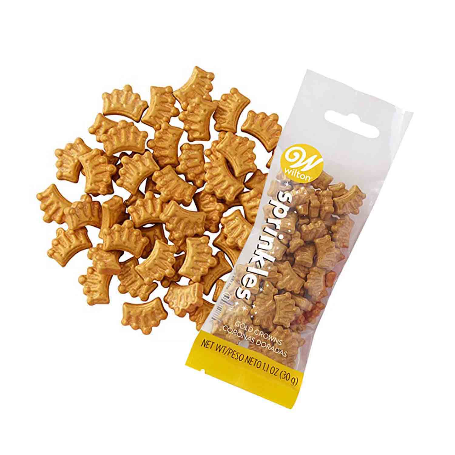 Golden Crown Candy Sprinkle Pouch