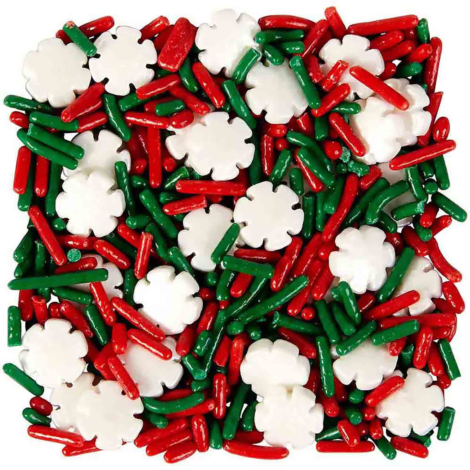 Holiday Snowflake Mix Sprinkles