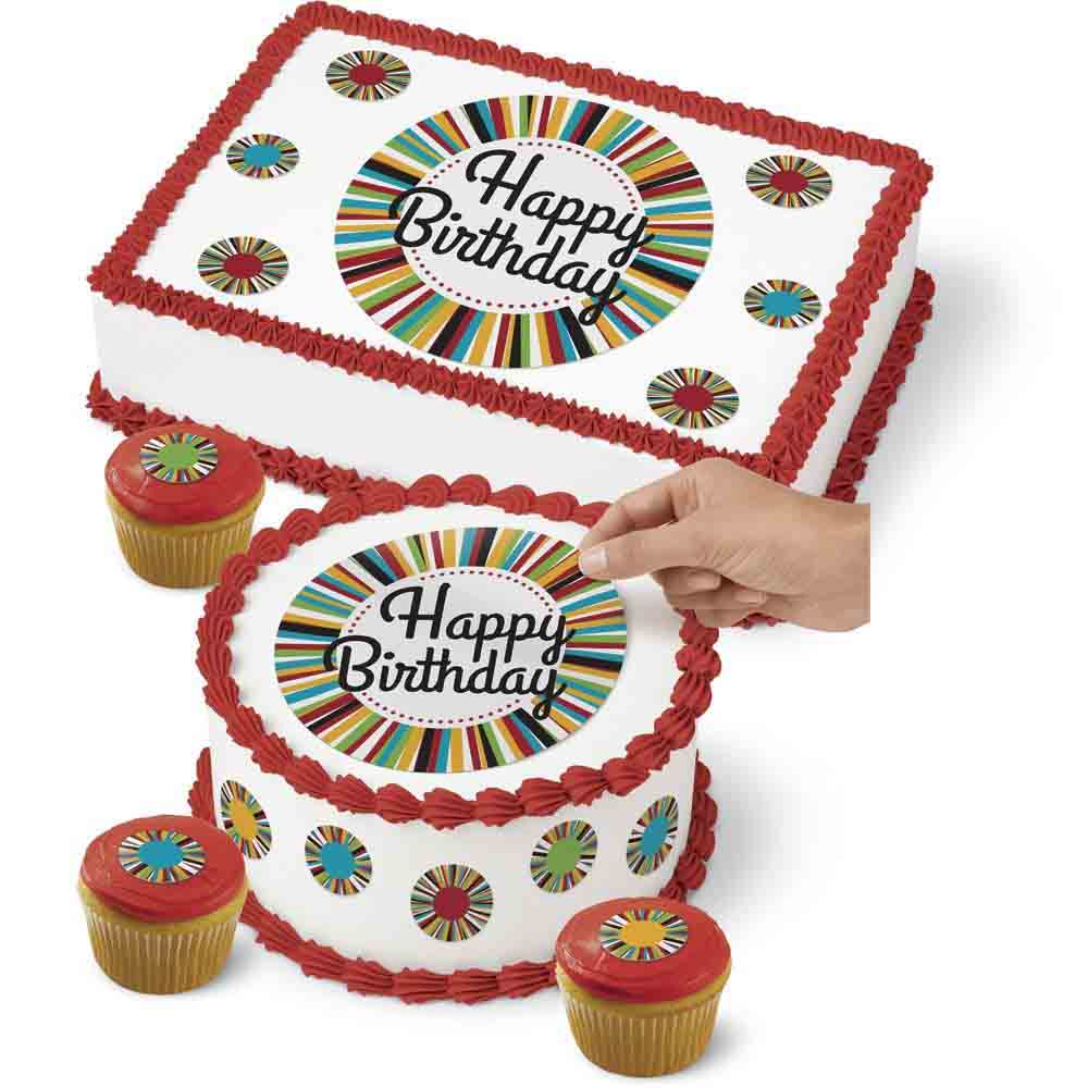 Birthday Edible Images and Frosting / Icing Sheets