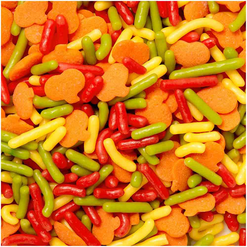 Autumn Pumpkin Sprinkle Mix