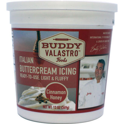 Cinnamon Honey Italian Buttercream Icing by Buddy Valastro