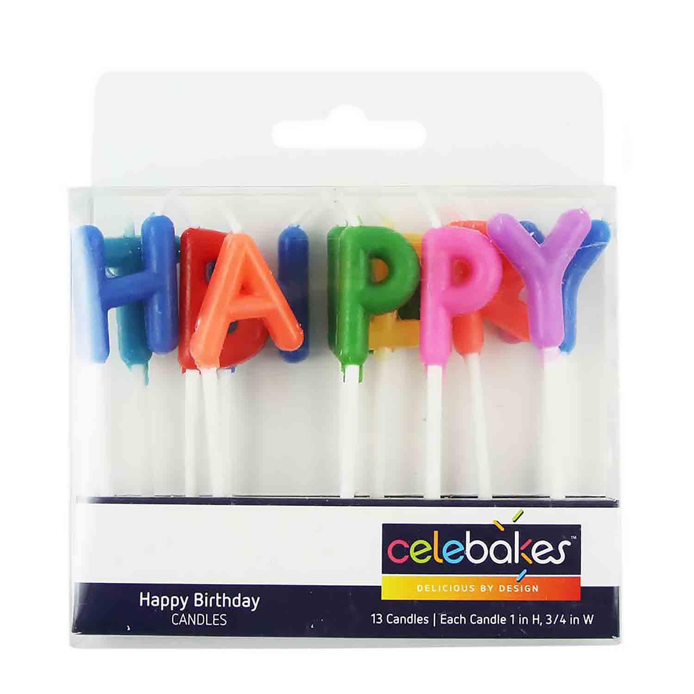 Happy Birthday Candle Set