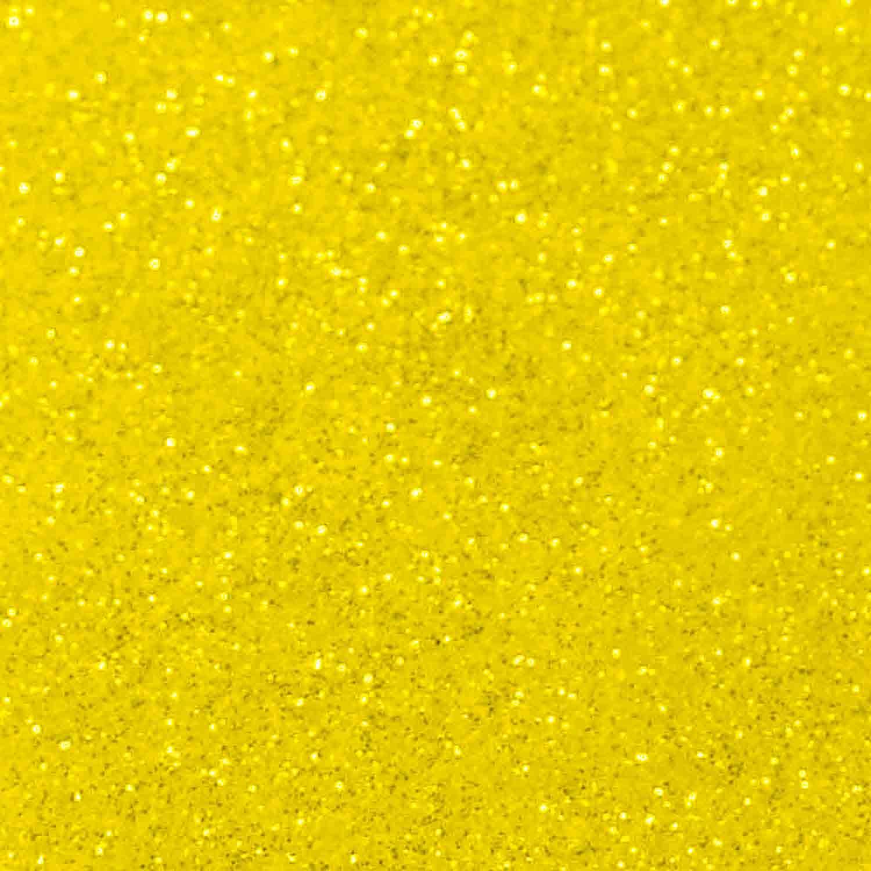 Yellow Citrine Techno Glitter