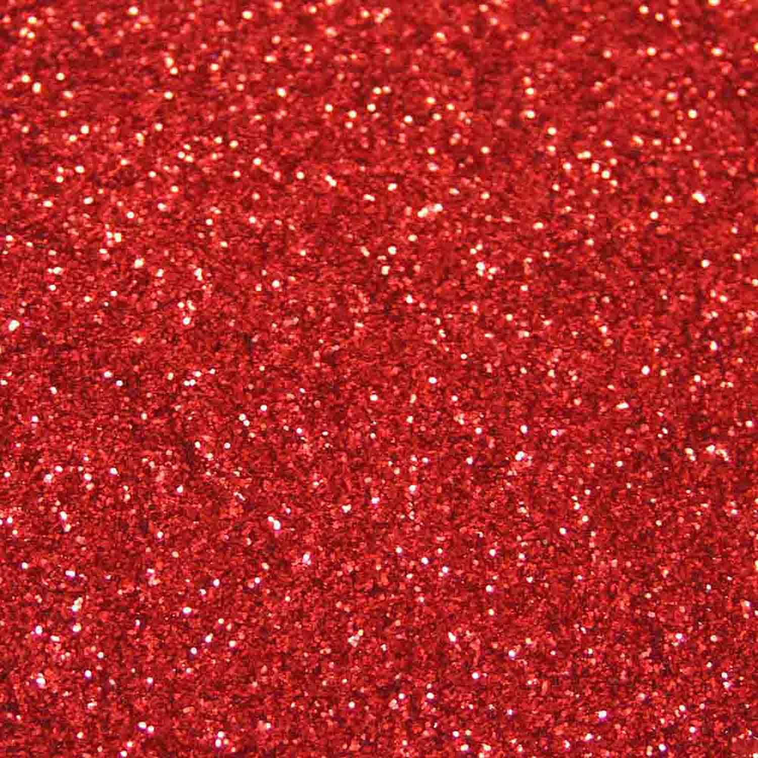 American Red Techno Glitter