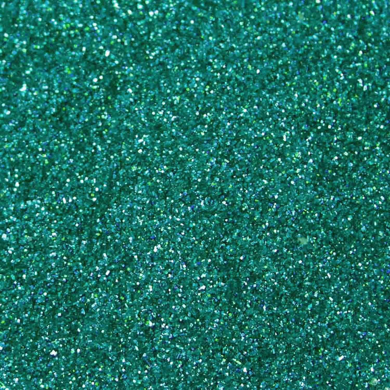 Teal Techno Glitter