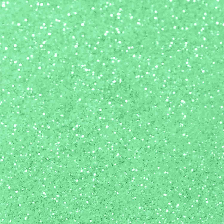 Baby Green Techno Glitter