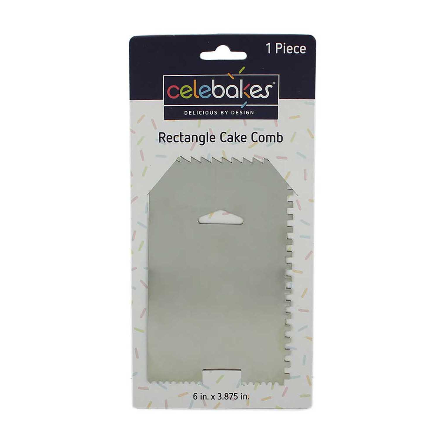Rectangle Cake Comb