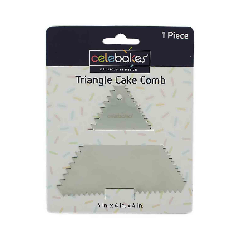 Triangle Cake Comb