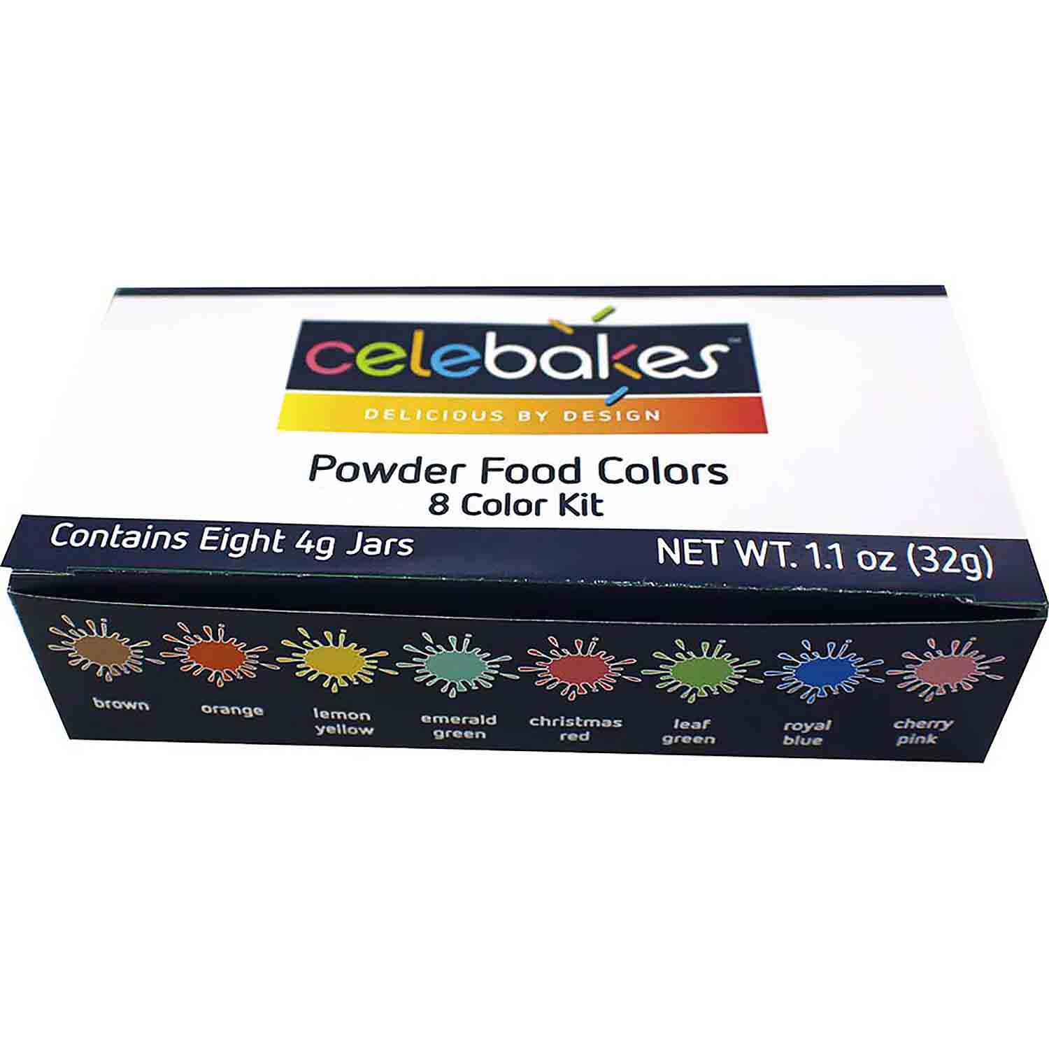 Powder Food Color Kit