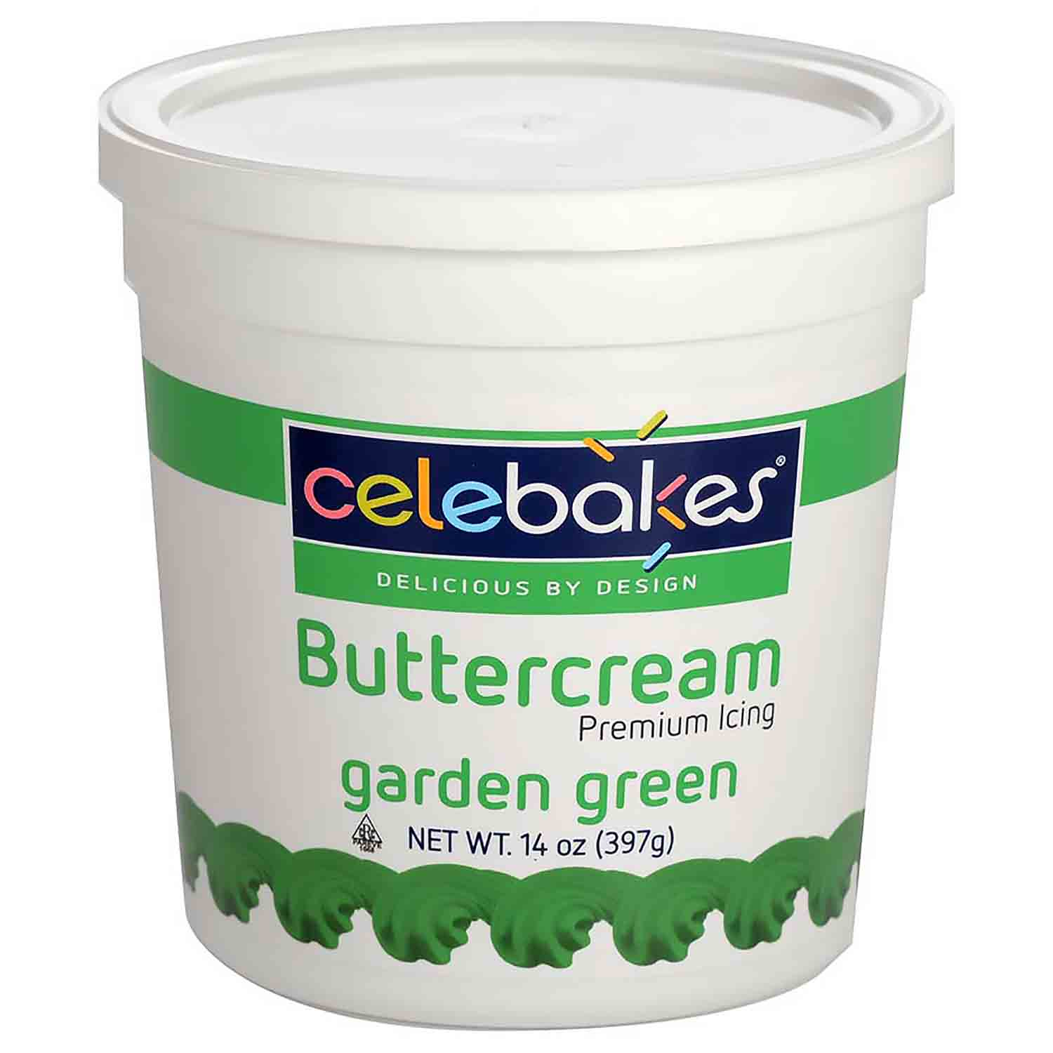 Green Decorating Buttercream Icing