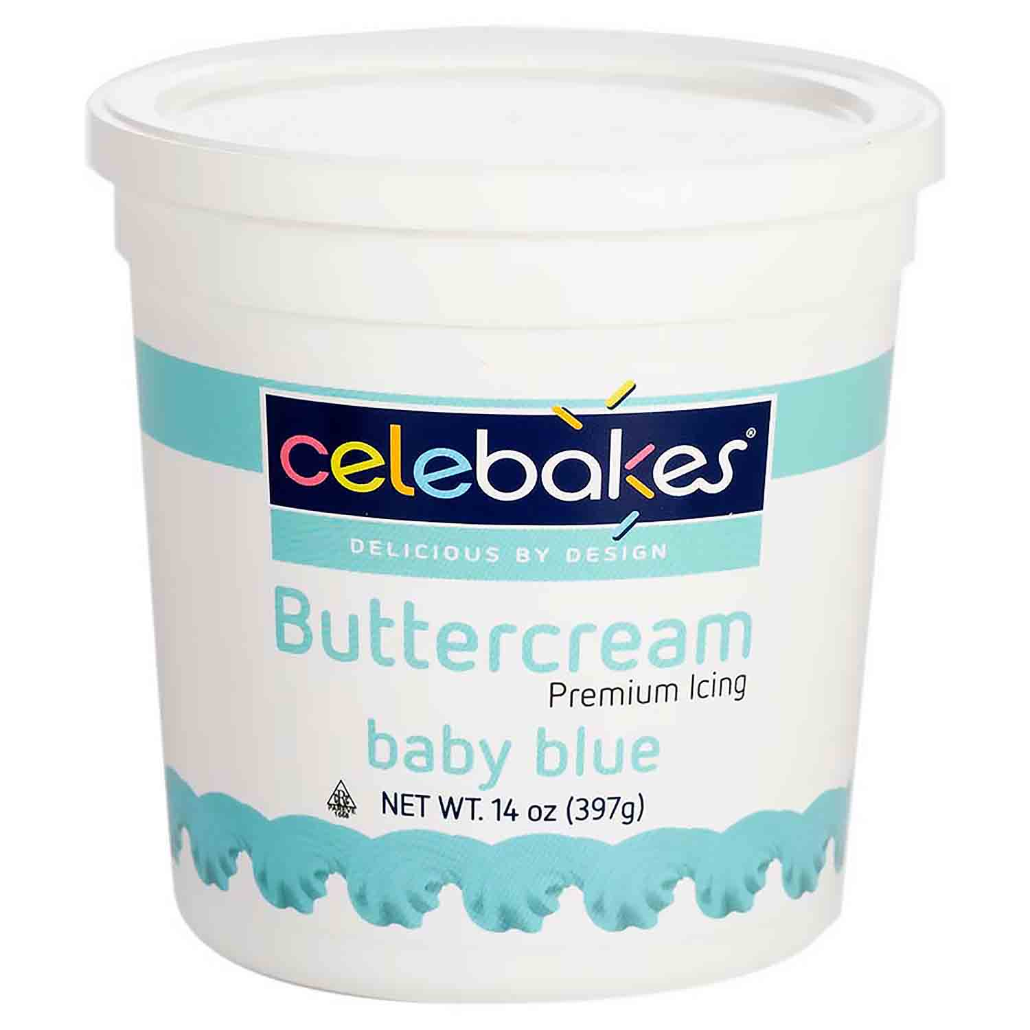 Baby Blue Decorating Buttercream Icing