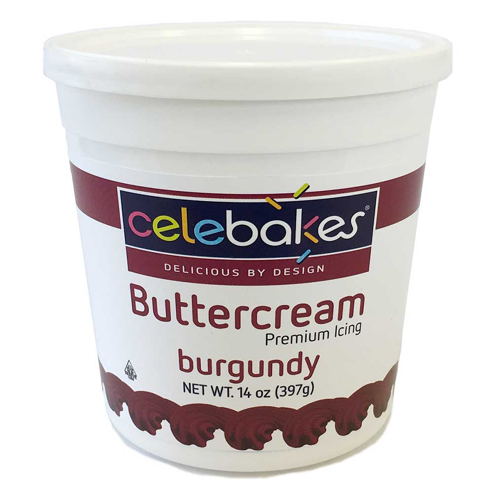 Burgundy Decorating Buttercream Icing