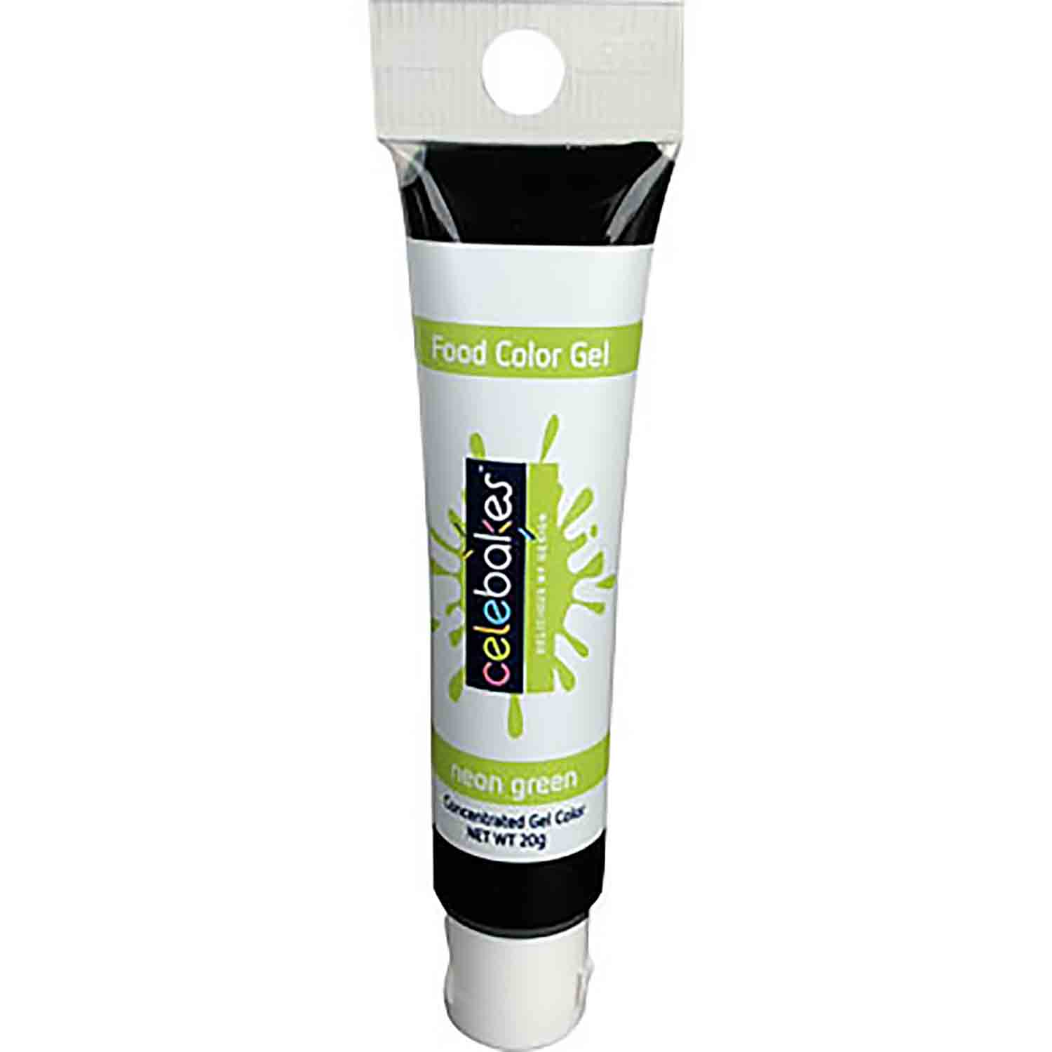 Neon Green Celebakes™ Food Color Gel