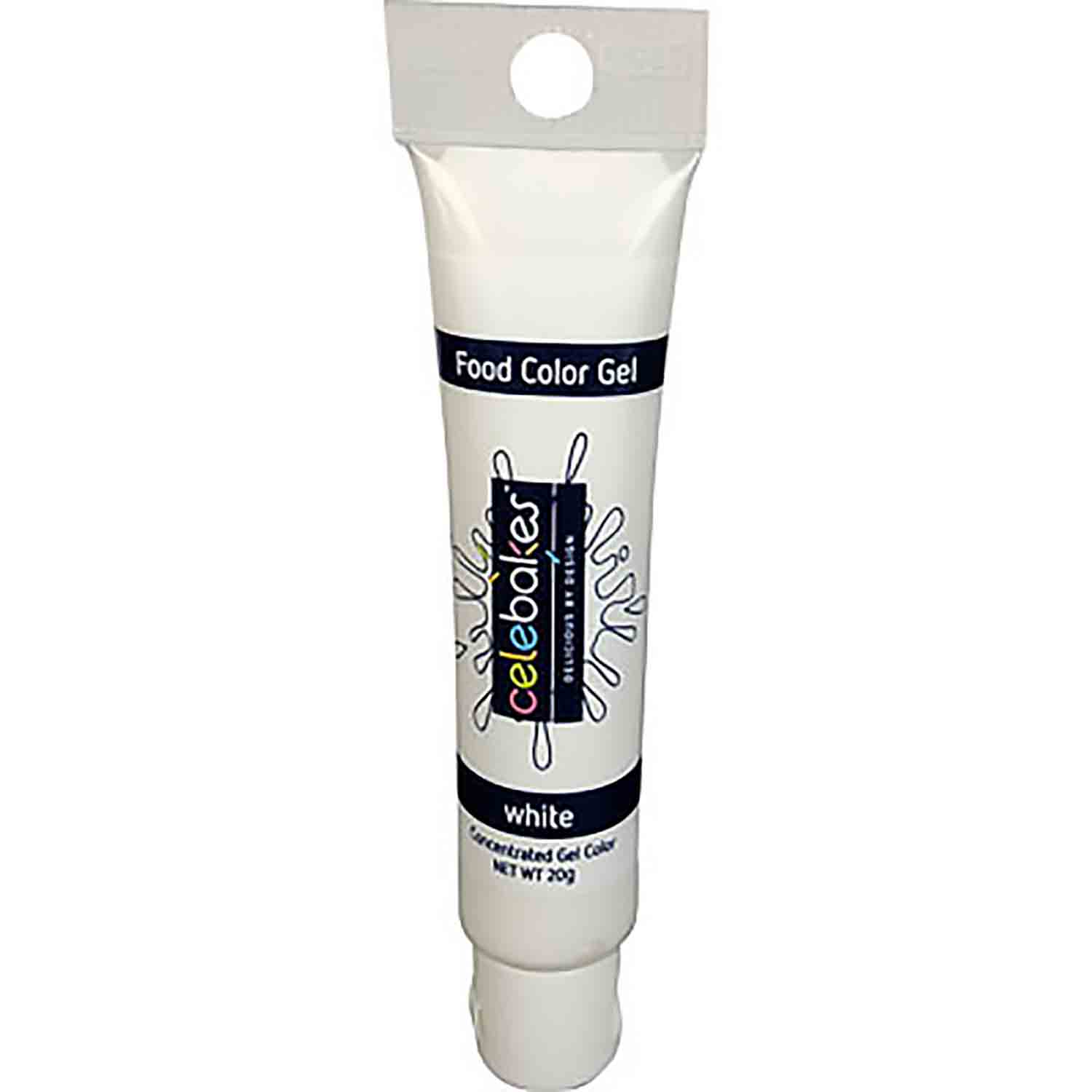 White Food Color Gel